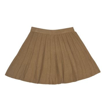 FUB nederdel Pleated Skirt Camel