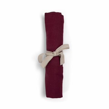 Filibabba stofble Deeply Red muslin