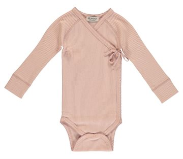 MarMar body Rib Mini Rose med sidelukning / wrapover